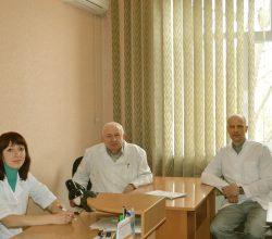 Завідувач відділенням Гладир Анатолій Олександрович з колегами